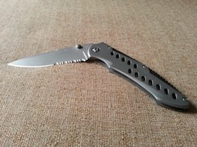 buck folding knife