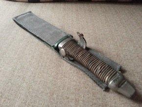 fixed blade tanto