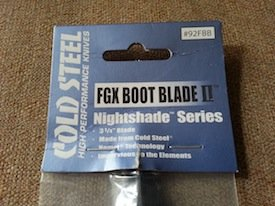 cold steel fgx boot blade ii