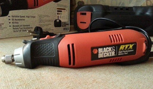 black & decker rtx-1