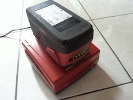36V lithium-ion battery Hilti