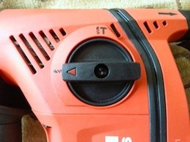 Hilti TE 6-A36 normal drilling