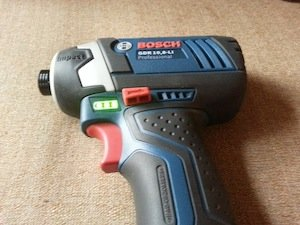 Bosch cordless impact driver