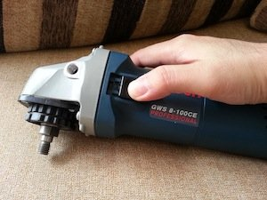 bosch variable speed angle grinder