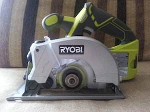 Ryobi p506 circular saw sawing straight lines with laser guidance ryobi p506 circular saw blade keyboard keysfo Choice Image
