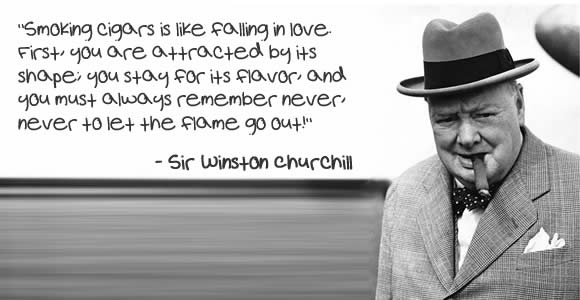 winston churchill quotes cigar