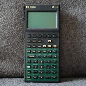 collection of hp calculators