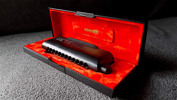 Hohner CX12 Tollak Signature Edition Chromatic Harmonica