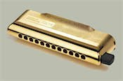 hohner cx12 chromatic harmonica gold