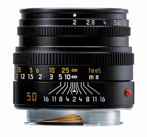 Leica Summicron-M 50mm 6-bit code lens