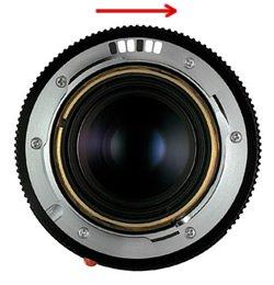 reading 6-bit code Leica M lens