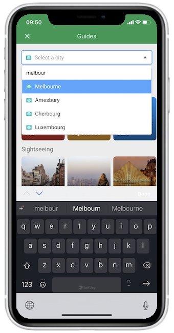 offline map travel guide