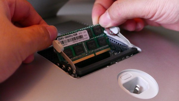 install RAM iMac