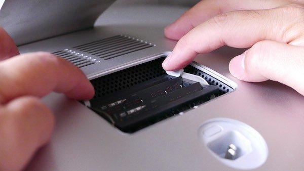 remove iMac RAM