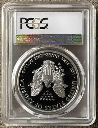 american silver eagle pr70dcam