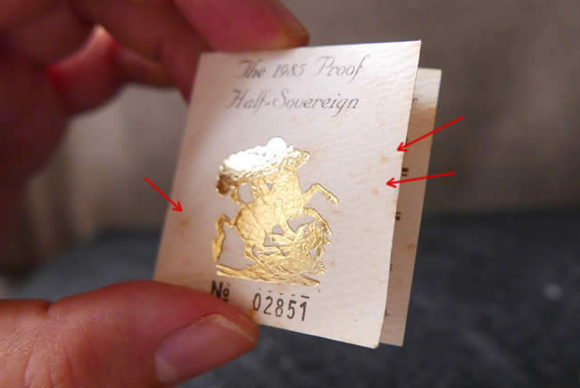 remove yellow spots from paper