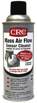 Cleaning Mass Air Flow Sensor Cleaner in a can by CRC