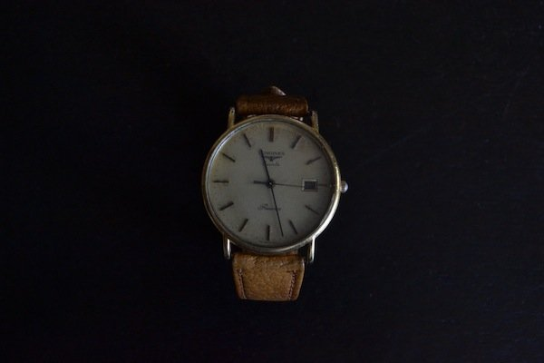 longines quartz presence gents watch