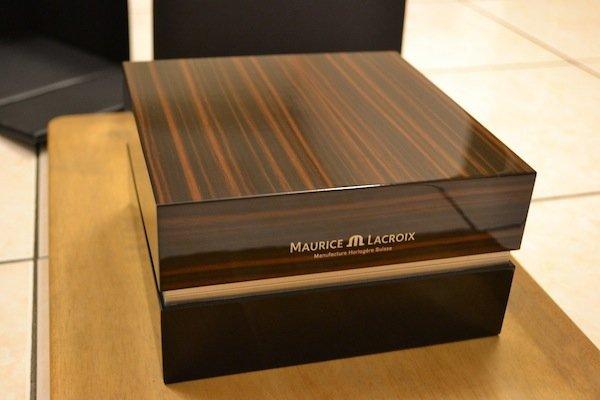 elegant wood veneer box