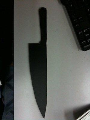 How to Make a Halloween Knife