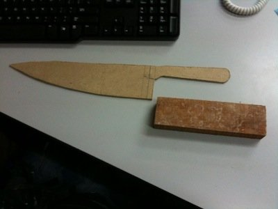 How to Make a Theatrical Knife