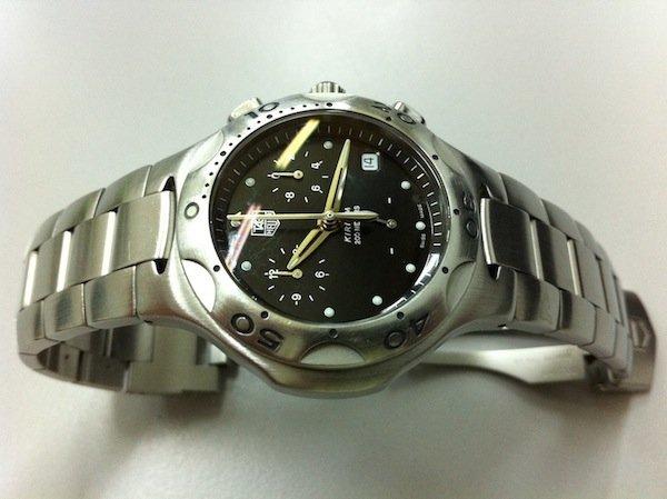 My TAG Heuer Kirium Quartz Chronograph photographed on 14 November 2011