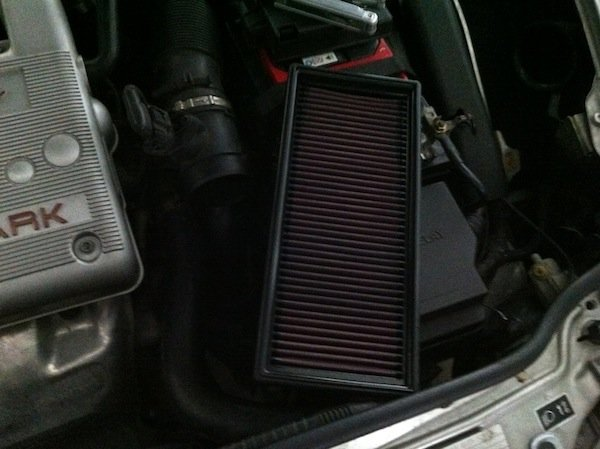 removing car air filter