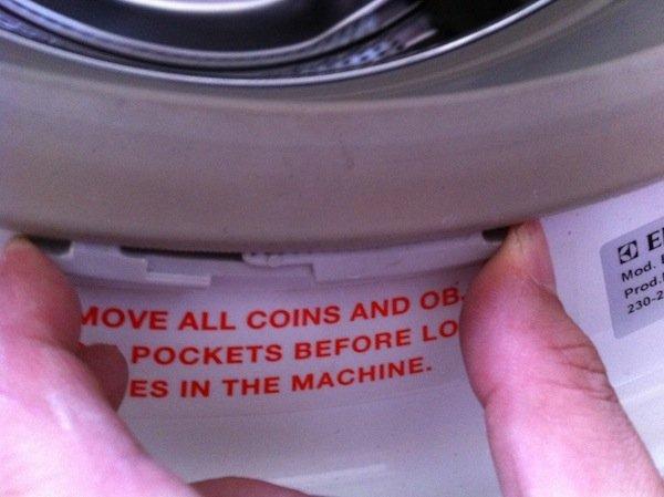 fixing a washing machine drum