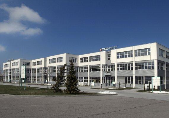 The TAG Heuer Manufacture in La Chaux-de-Fonds, Switzerland