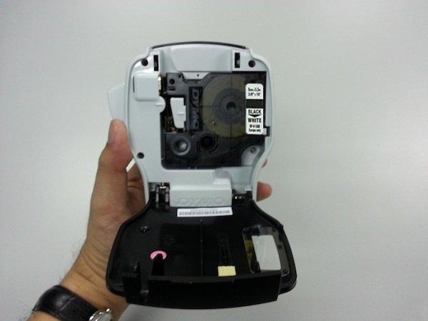 DYMO D1 12 mm label black-on-white