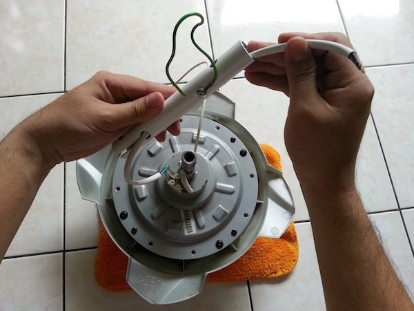how to install a Panasonic ceiling fan