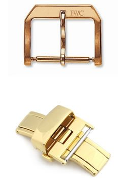 Pin Buckle (top) vs. Deployant Buckle (above)